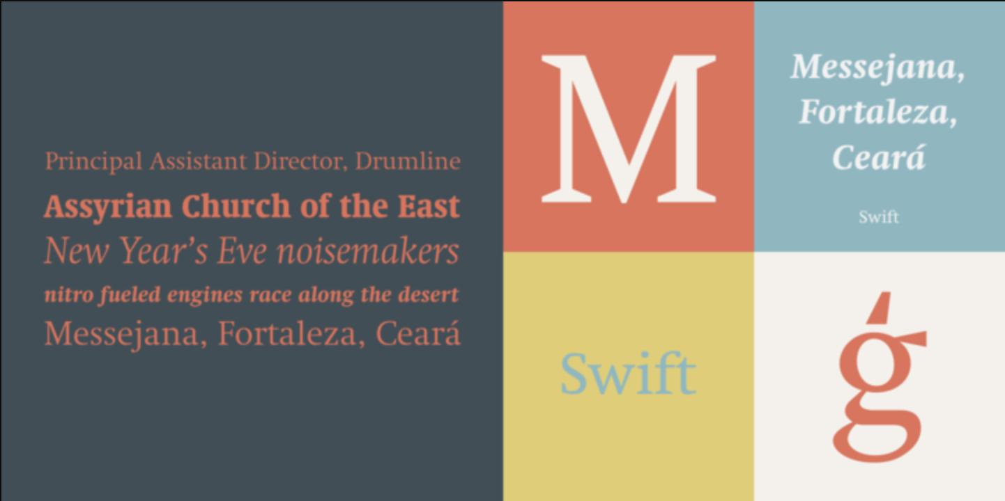 Figure 4. Swift. By: Gerard Unger.