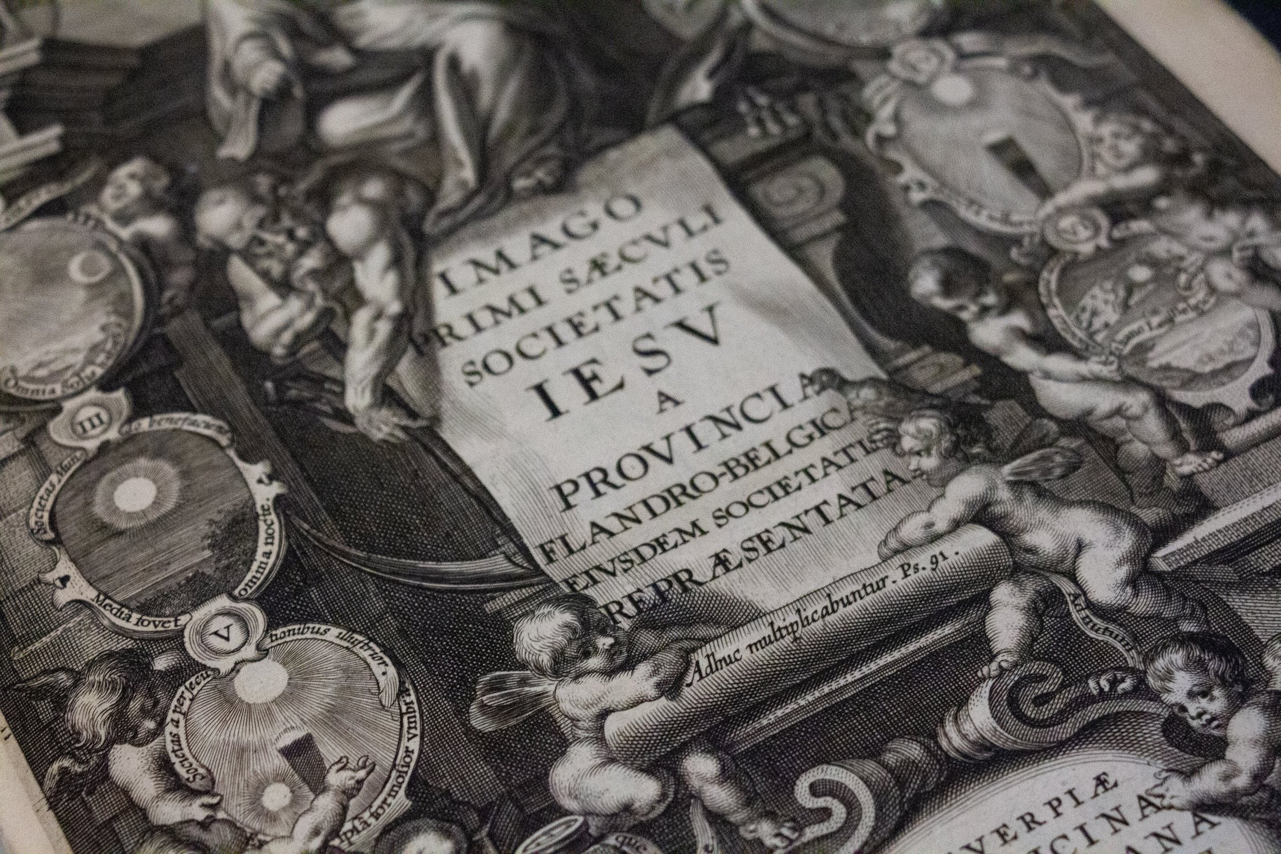 Images from Plantin-Moretus Museum Archive