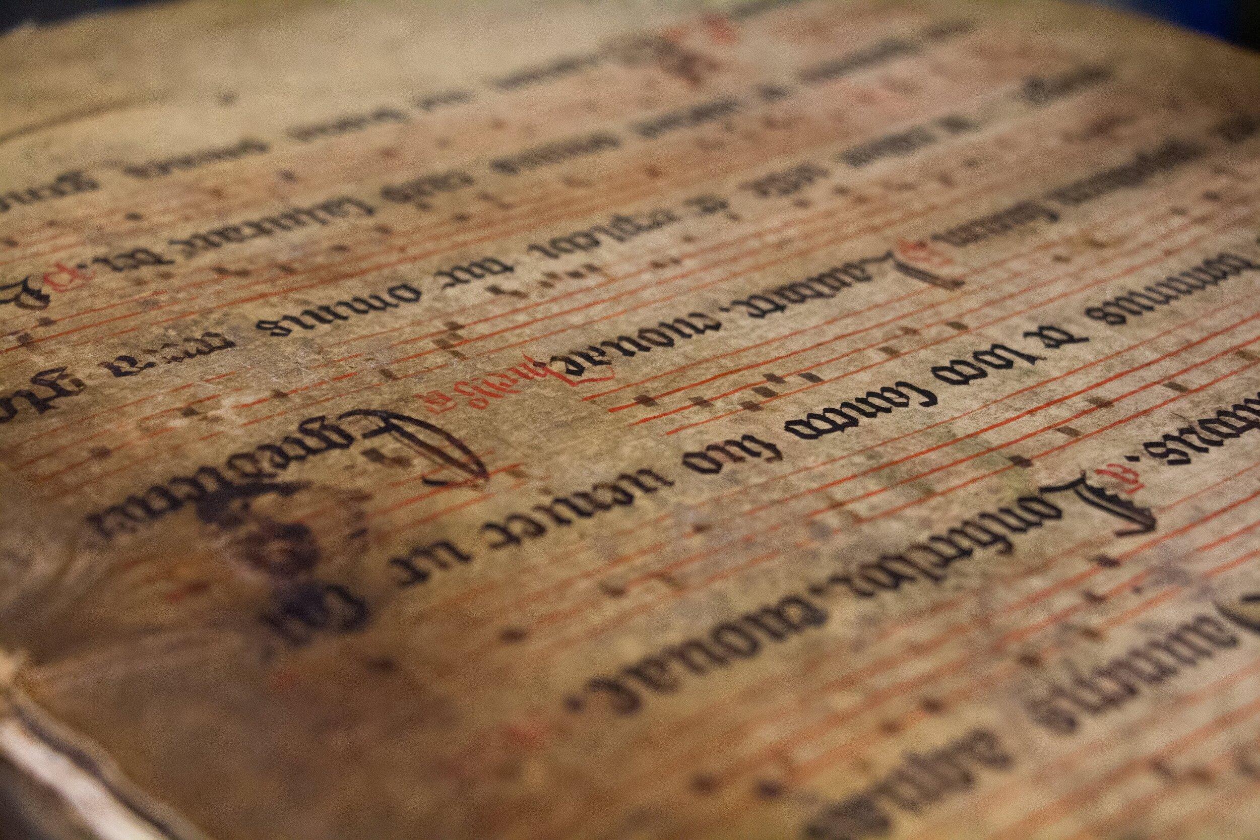 Manuscript from the Plantin-Moretus