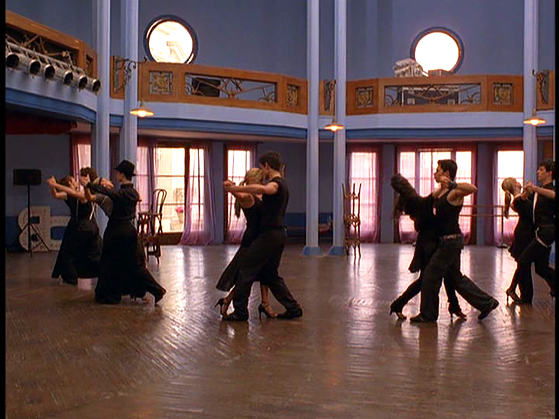 Joaquin's (Golan Yosef) romantic tango studio.
