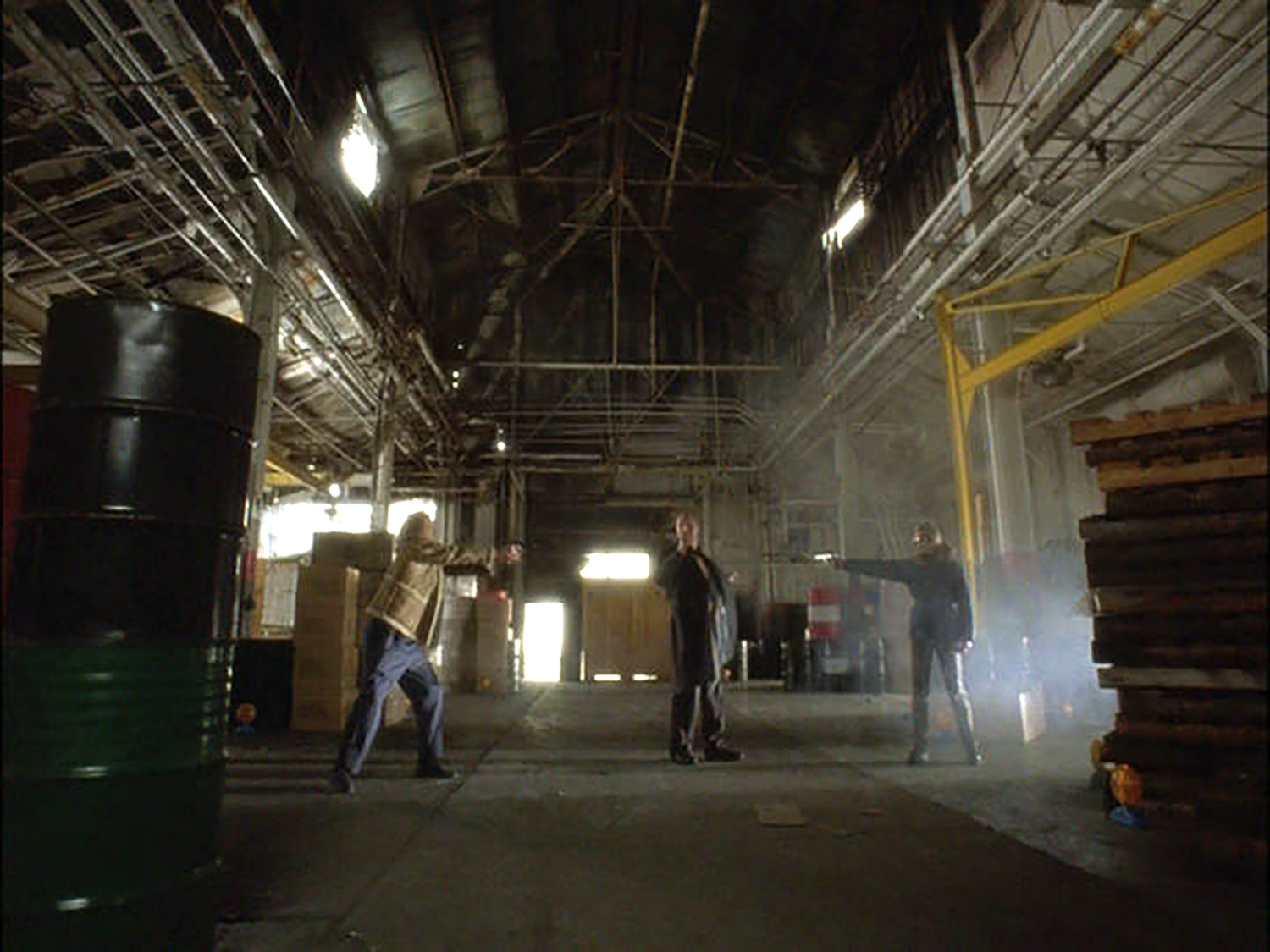 More warehouse dress/build-out for a gunfight.