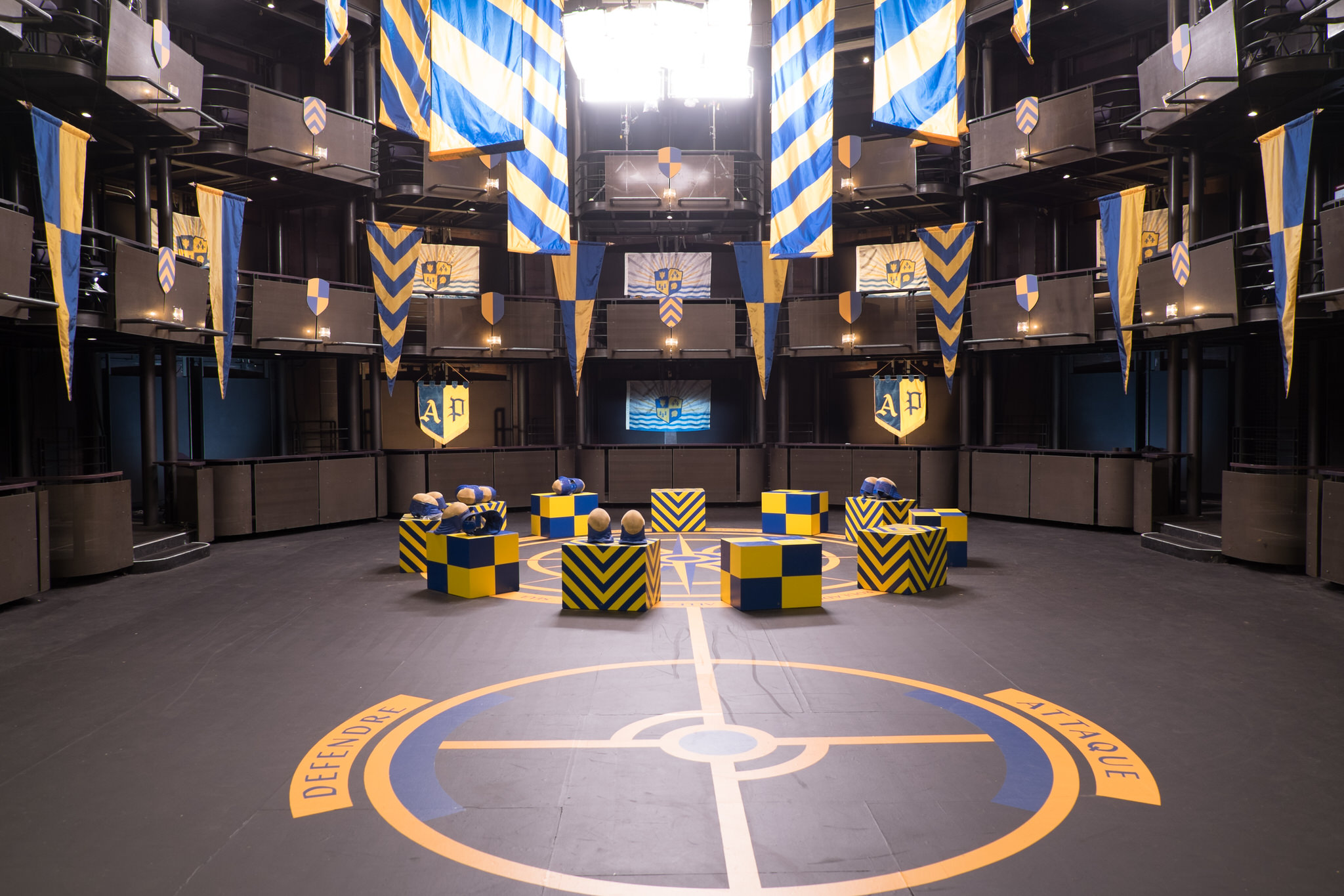 Like Tourney in the first Descendants movie, Descendants 2 required us to invent another sport of chivalry and tactics. ROAR is a stadium style team fencing game fought in close quarters.