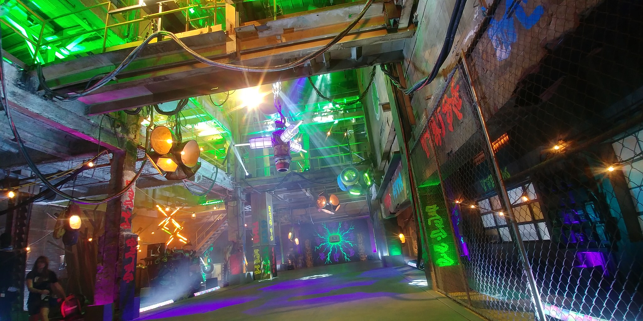 The tentpole musical number of Disney's Z-O-M-B-I-E-S is BAMM set in the very heart of the ruined energy plant. Here the zombies can truly be themselves safe from human interference. Also here they bring to bear all their ingenuity and technical skill to create a cobbled-together rave-like atmosphere.