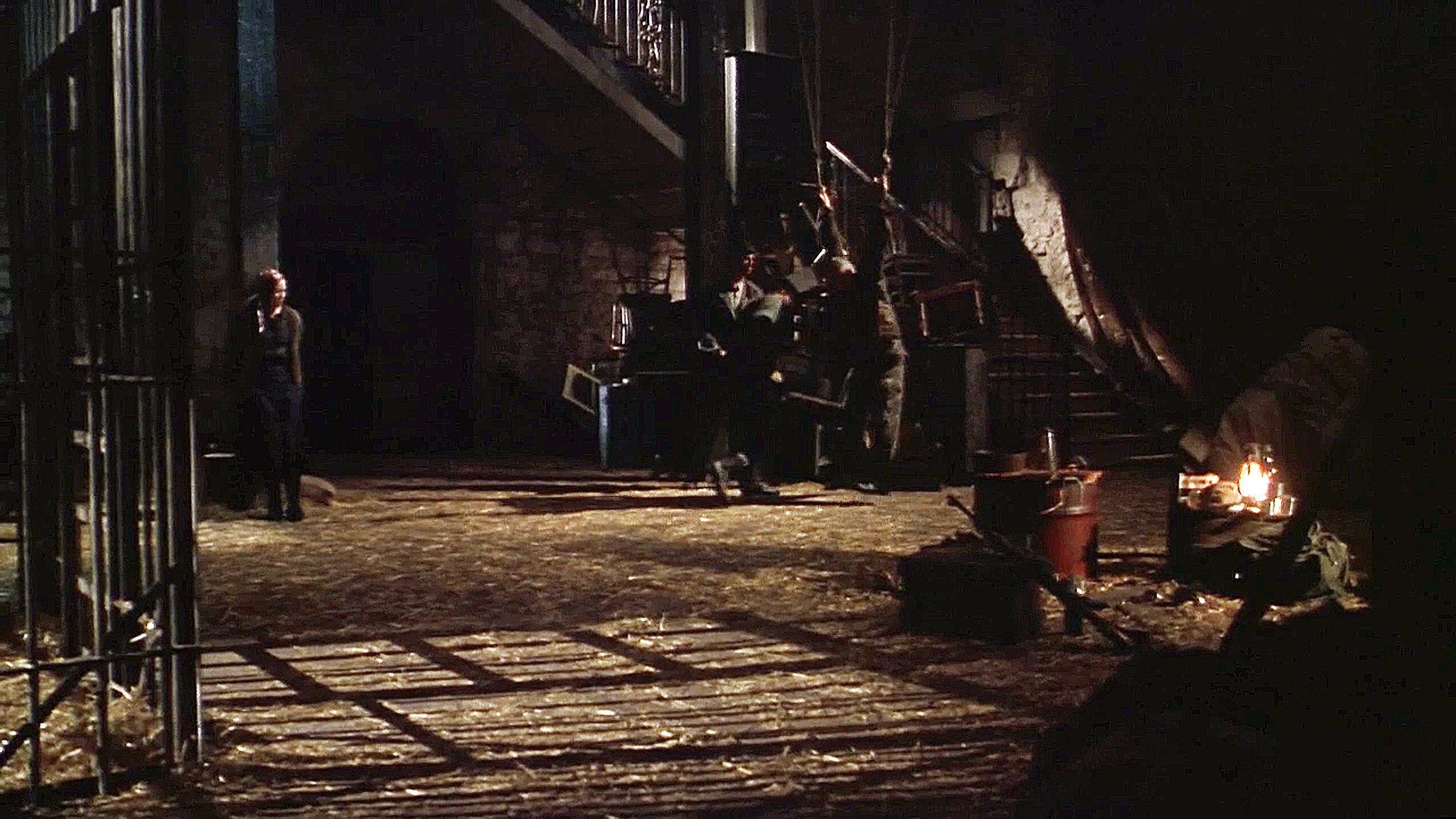 The Sustitute 3 was a low-budget shoot-em up. This is an abondoned mill with a Serbian militia camp and prison in it.