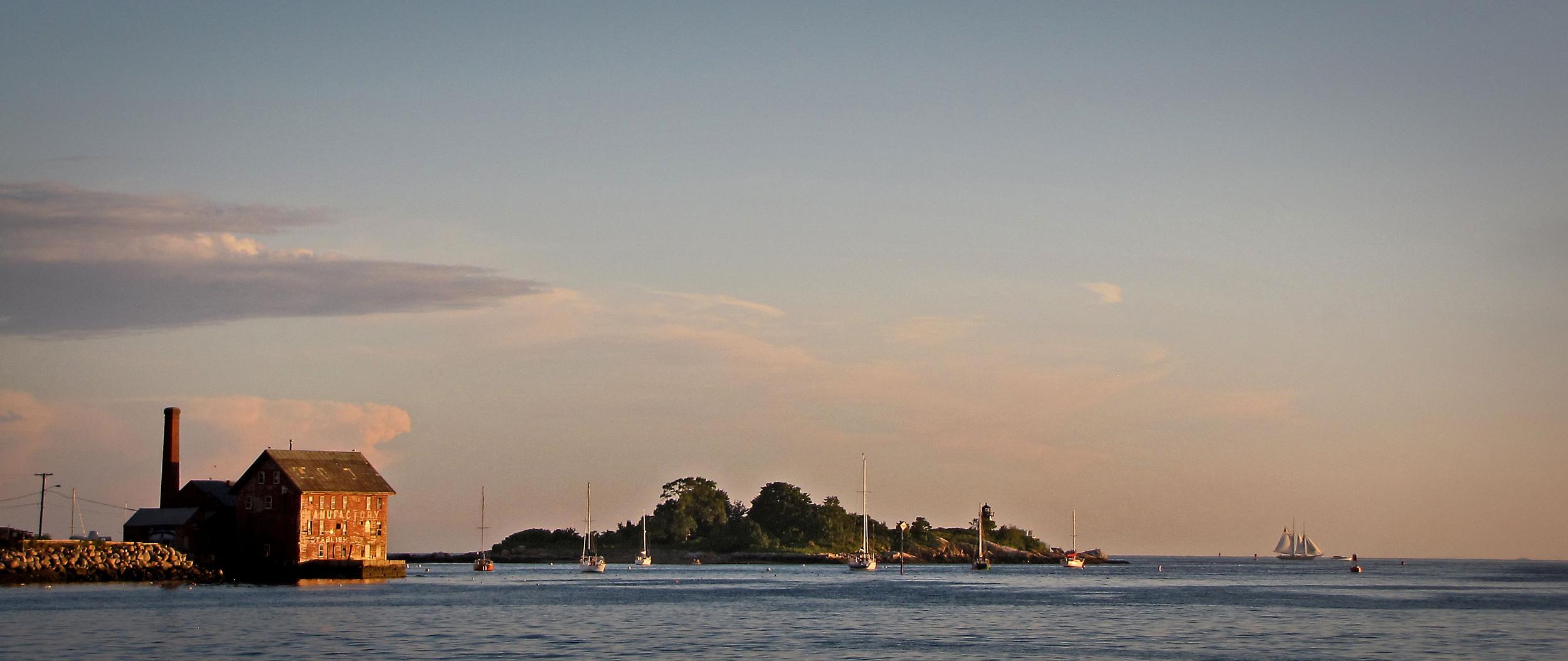 Fitz Henry Lane Light - Gloucester Harbor