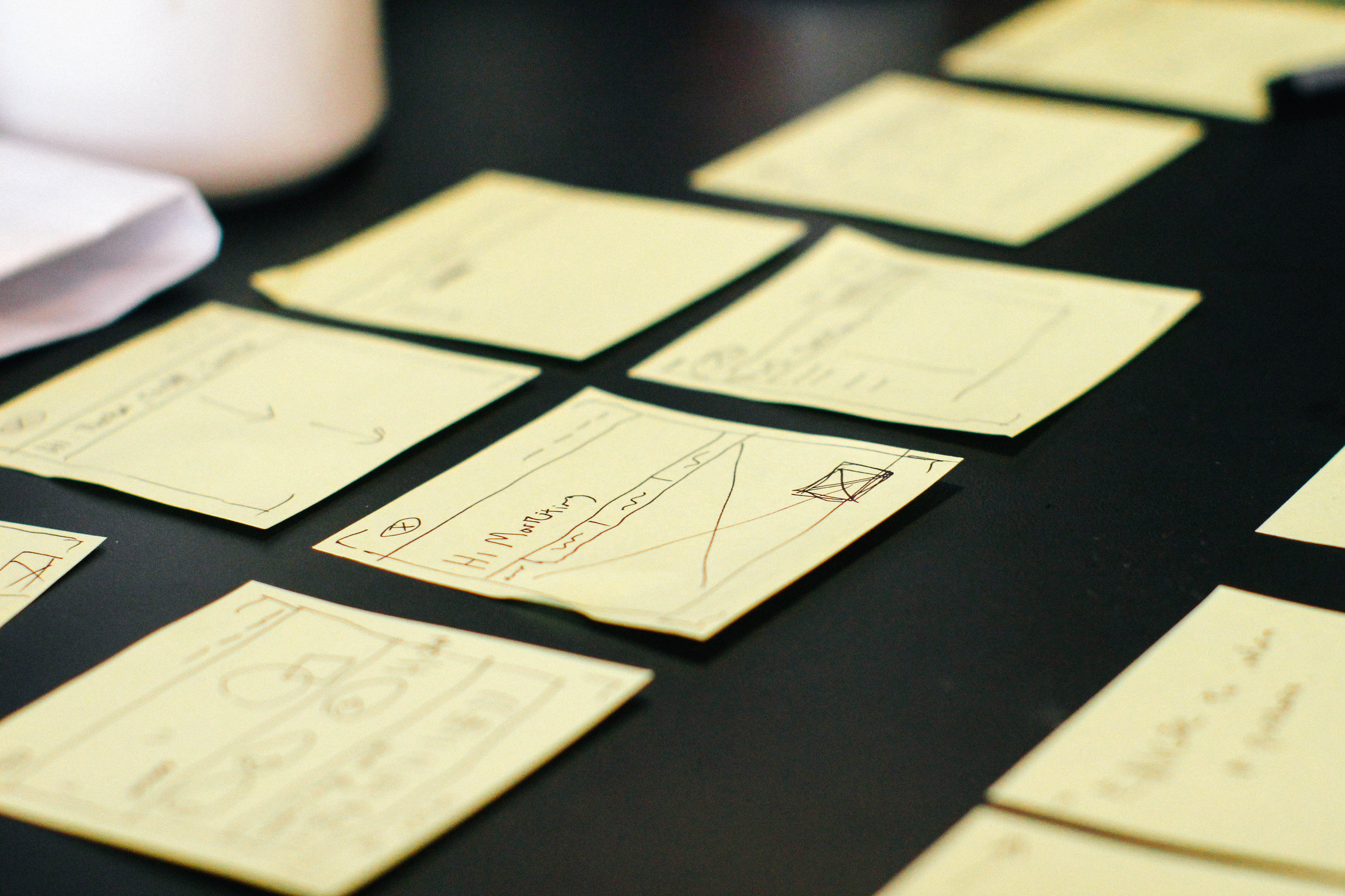 Post-It StoryBoard
