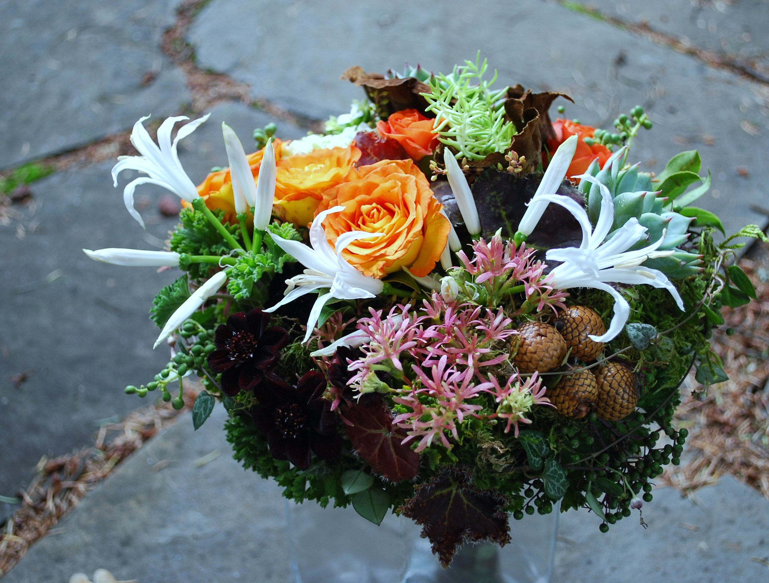 Floral Design by Lili, Woodland bouquet