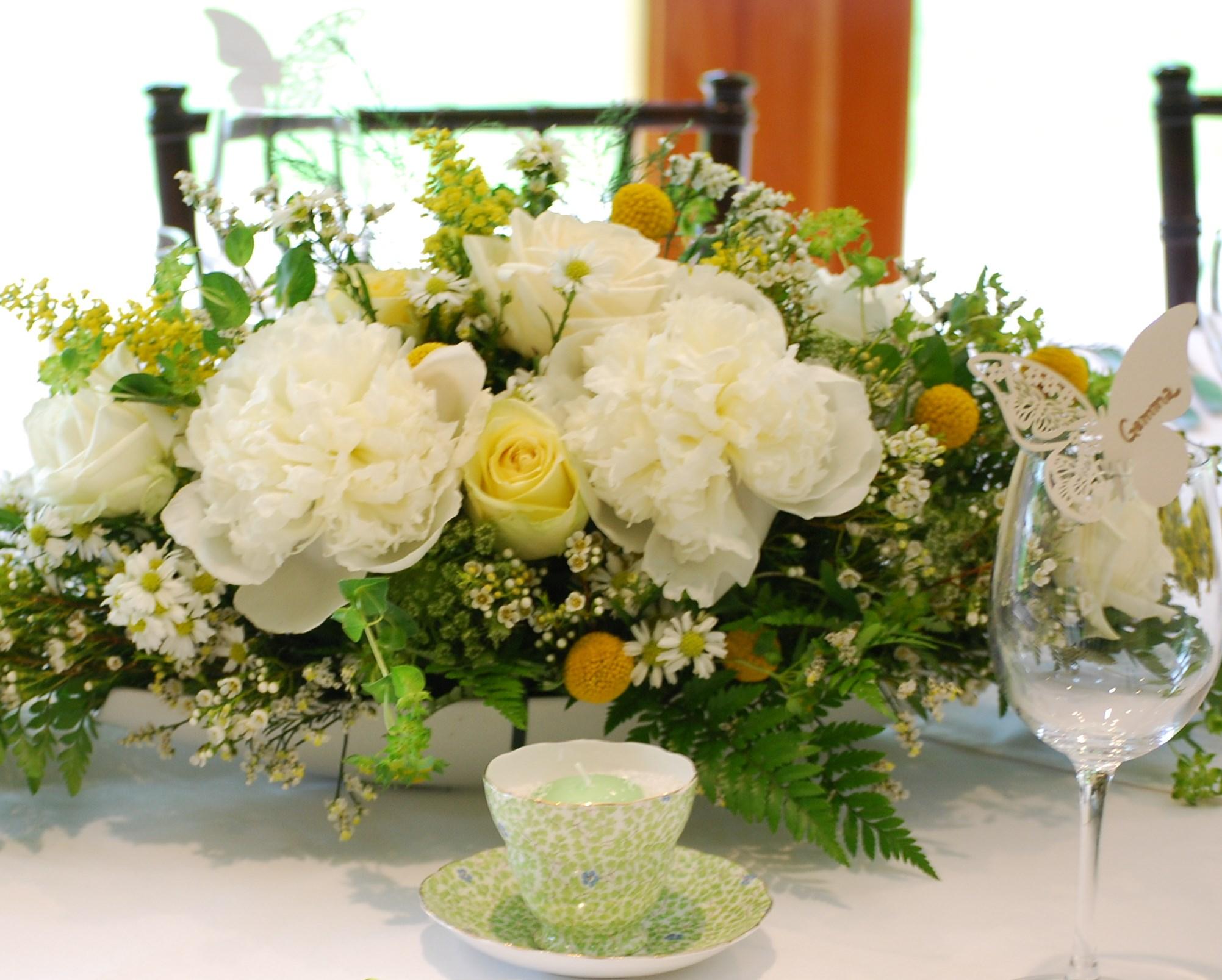 Floral Design by Lili, wedding centerpiece