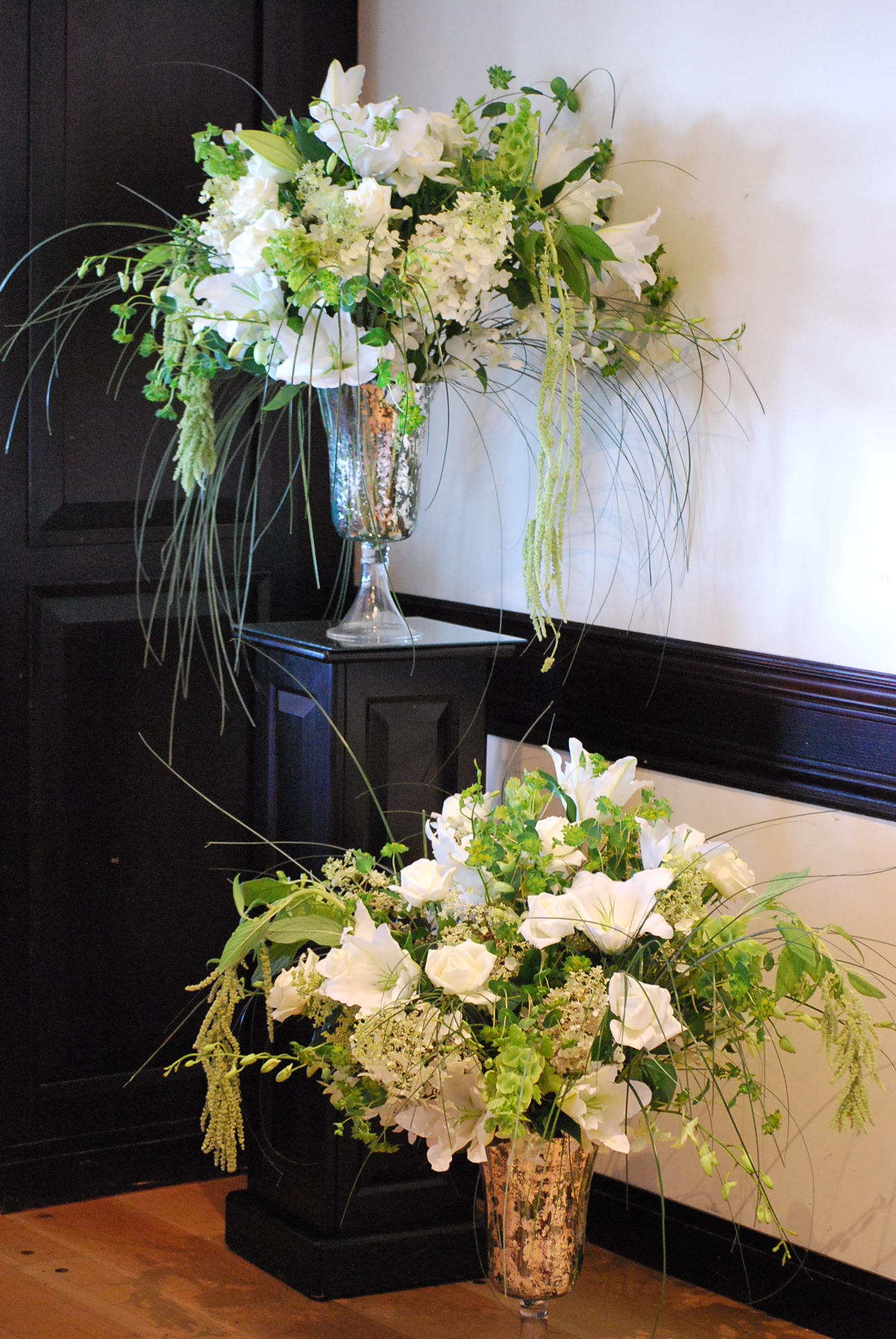Large arrangements for Main Alters by Floral Design by Lili, Lower Mainland, B.C. Wedding Florist