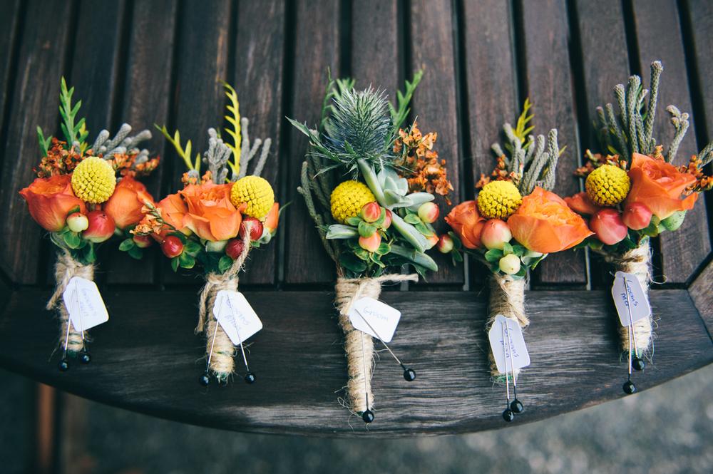 Boutonniere by Floral Design by Lili ,  Fraser Valley wedding Florist