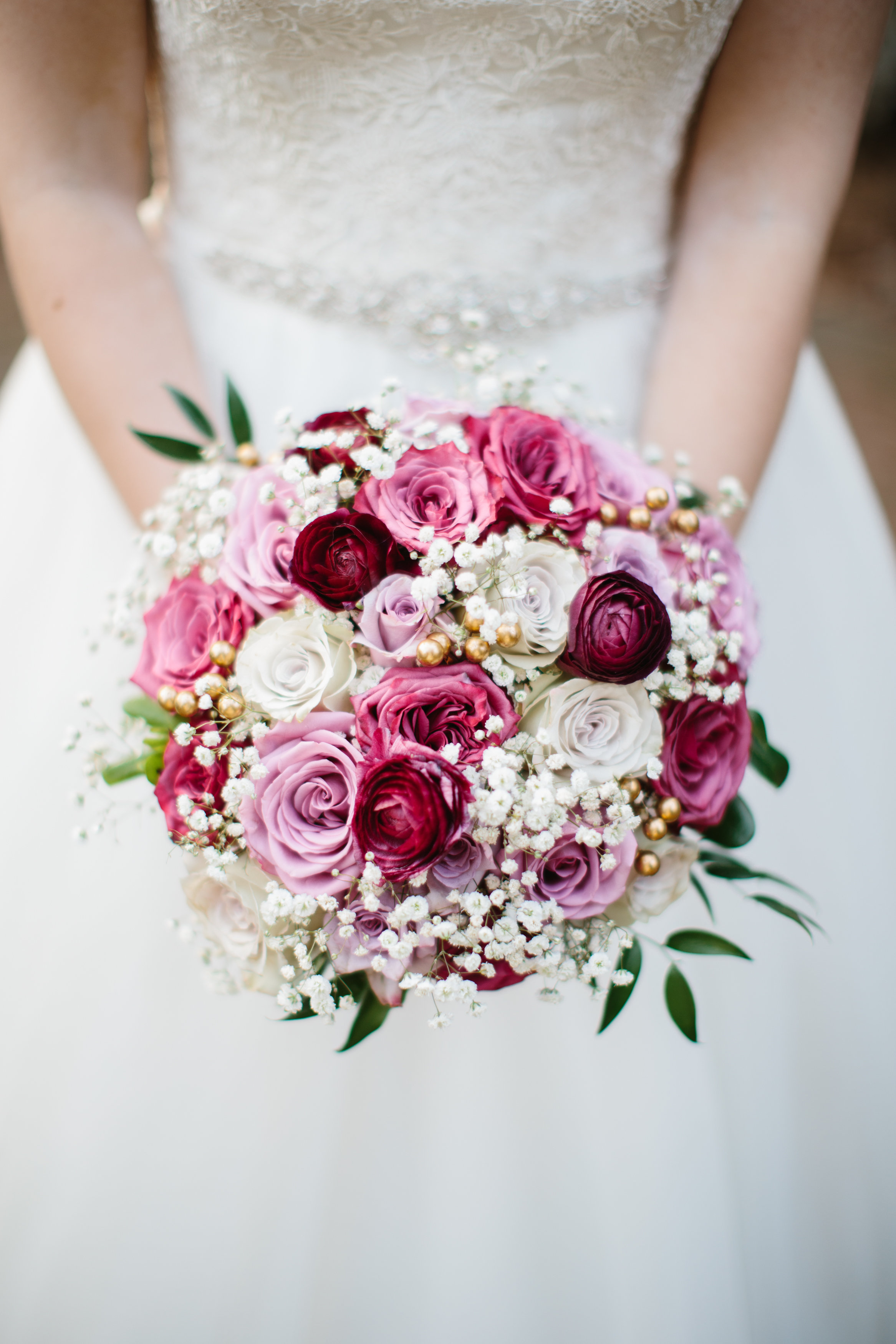 Traditional bridal bouquet by Abbotsford Wedding Florist Floral Design by Lili