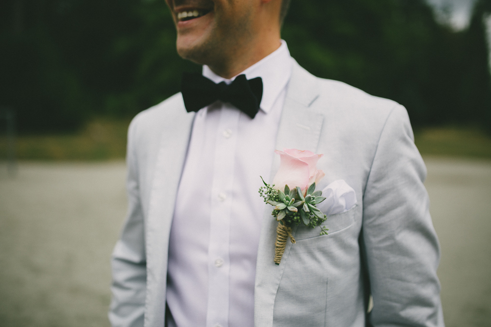 Boutonniere for weddings, by Floral Design by Lili ,  Fraser Valley  Florist.