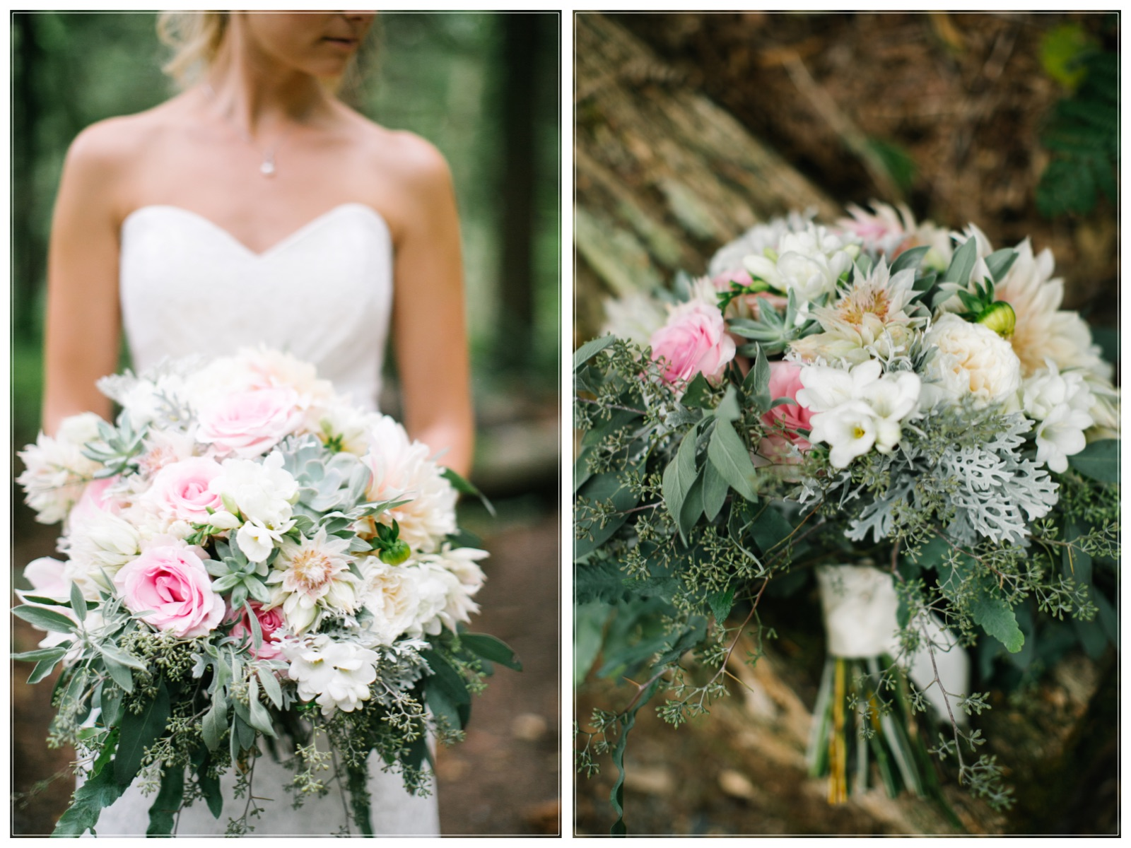 Beautiful summer Garden style Bouquet by Abbotsford wedding florist, Floral design by Lili