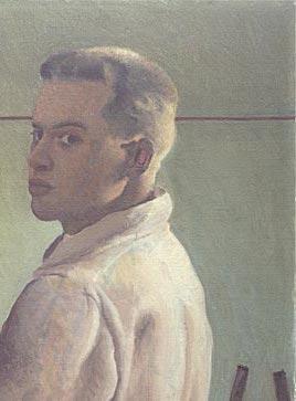 Alex Colville, Self -Portrait , 1942 (pormenor)