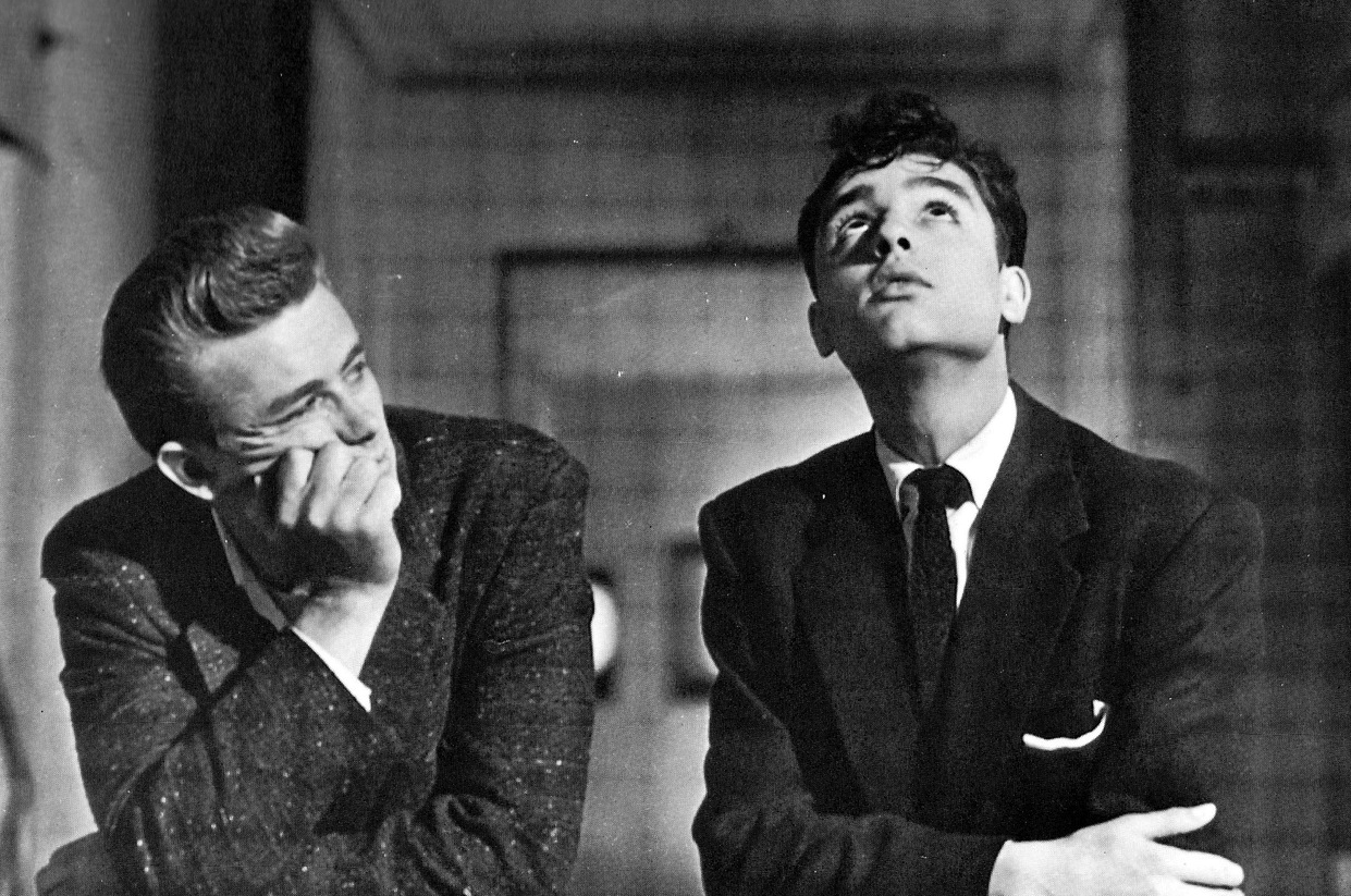 James Dean e Sal Mineo, Rebel Without a Cause, Nicholas Ray, 1955