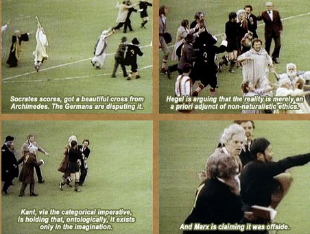 Monty Python, The Philosophers' Football Match