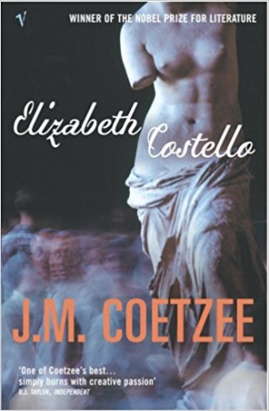 Elizabeth Costello  de J. M. Coetzee. Coetzee é um dos meus escritores favoritos. Acho que se pode ler qualquer coisa dele de uma assentada. Não sendo imediatamente evidente como é que um romance sobre uma escritora de idade avançada, apologista de um vegetarianismo radical, que num dado momento a leva a estabelecer uma comparação entre o abate de animais e o holocausto, termina num ensaio sobre as raízes clássicas e bizantinas do mundo em que vivemos, sobre a religião, sobre África, sobre Kafka como autor fundamental do nosso tempo, sobre o vazio da vida de escritor, que surge como uma profissão que exige um compromisso e uma honestidade de pendor quase espiritual, quase uma independência sobre-humana. Perturbador, profundo, impecavelmente bem escrito. Não há neste livro nada que não seja relevante para pensarmos o que seja viver eticamente.