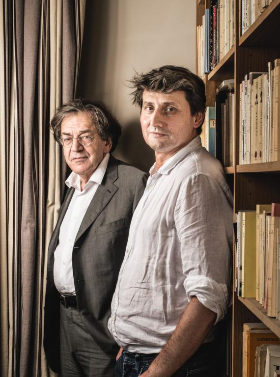 Alain Finkielkraut e Frédéric Gros, 2017