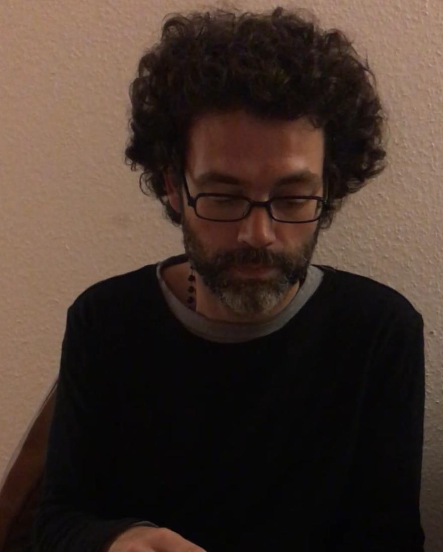"Fernando Machado Silva lê ""Para habitar a comunidade ou justo o amor"""