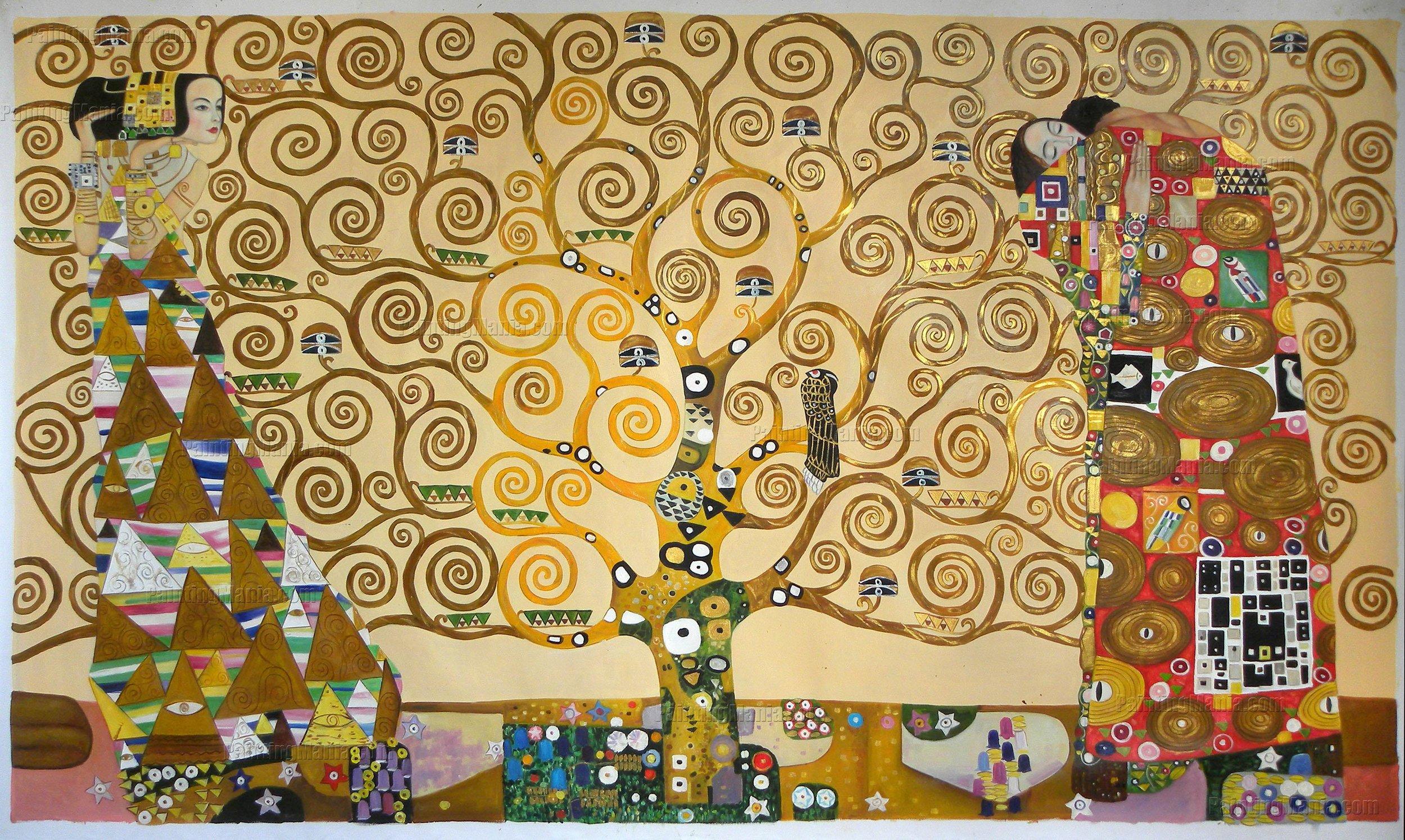 Árvore da Vida, Gustav Klimt