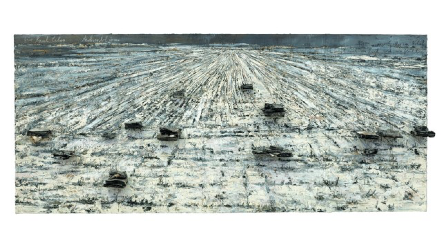Anselm Kiefer,  Für Paul Celan: Aschenblume , 2006, Centre Pompidou
