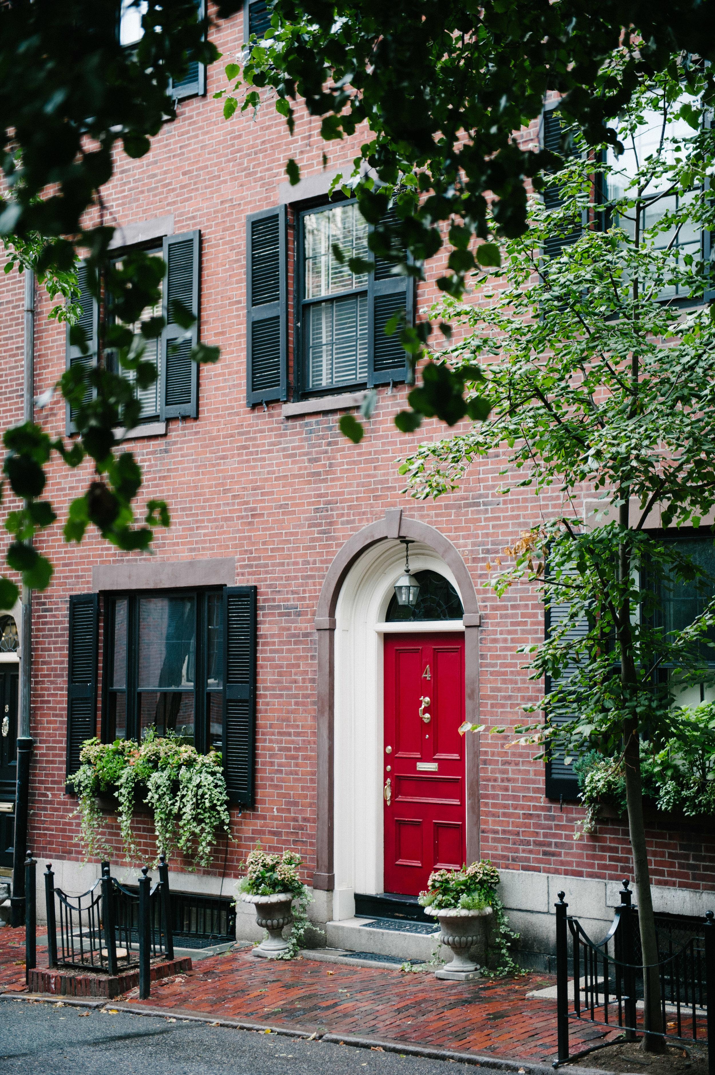 Little Red Door Boston