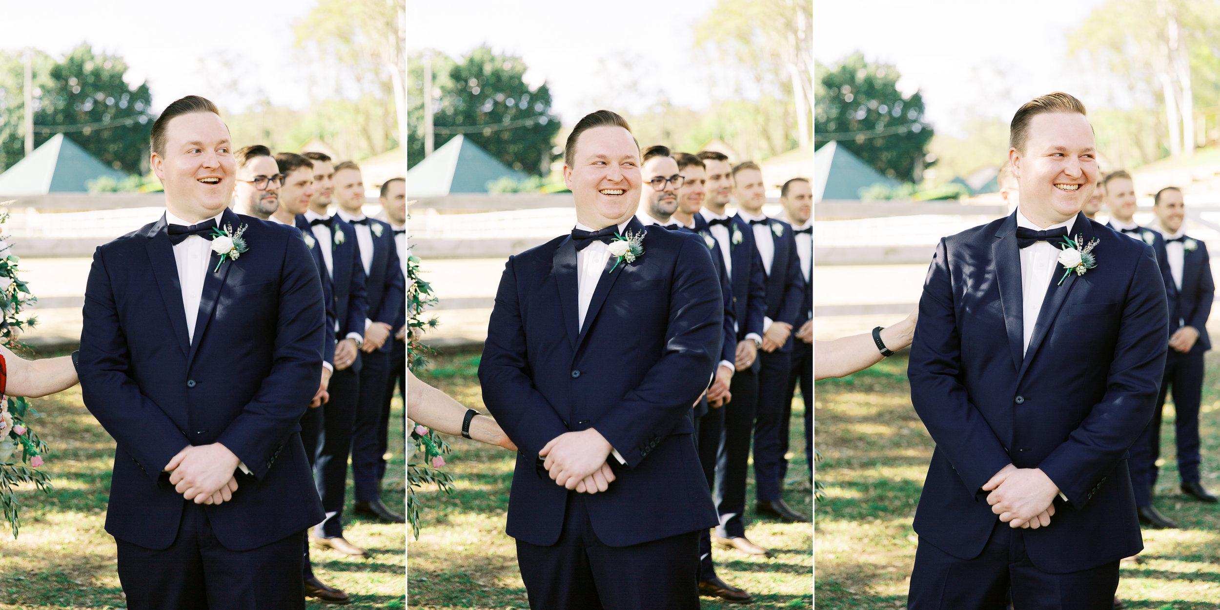 brisbane-city-fine-art-photography-brookfield-hall-wedding-groom-reaction-1.jpg