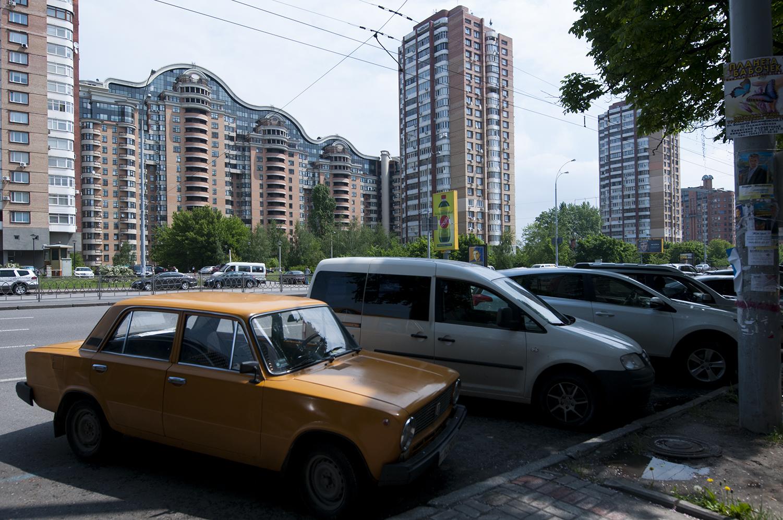 Buildings from the Pecherska quarter