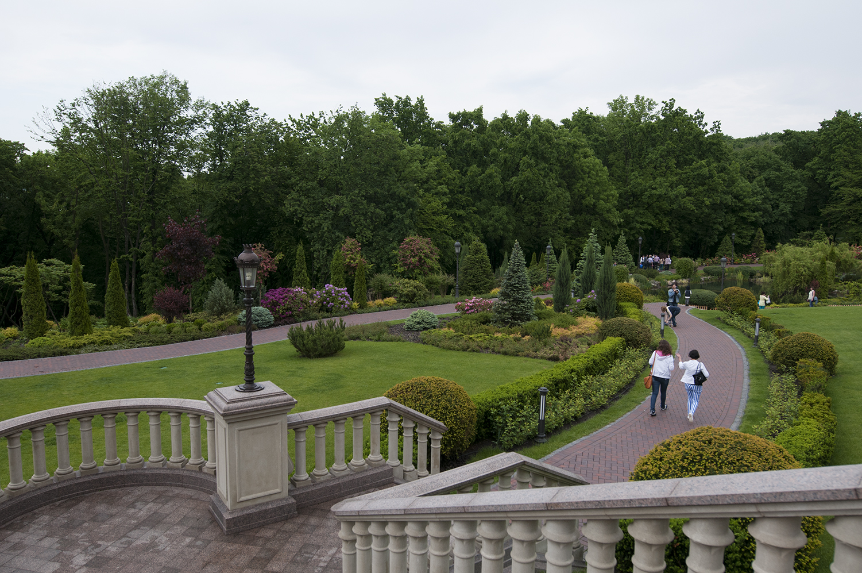 Gardens ofIanoukovitch Mansion
