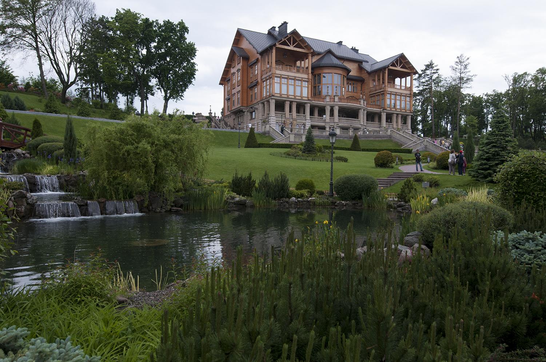 The main residence insideIanoukovitch Mansion