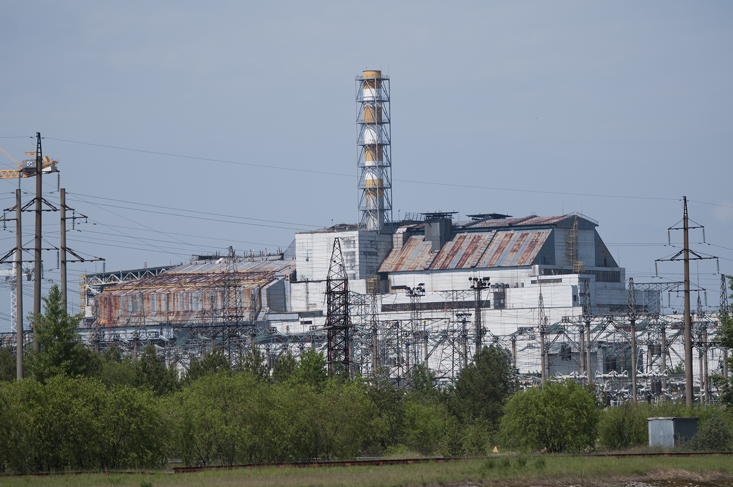 Reactor number 3 and 4 of the Chernobyl's nuclear power