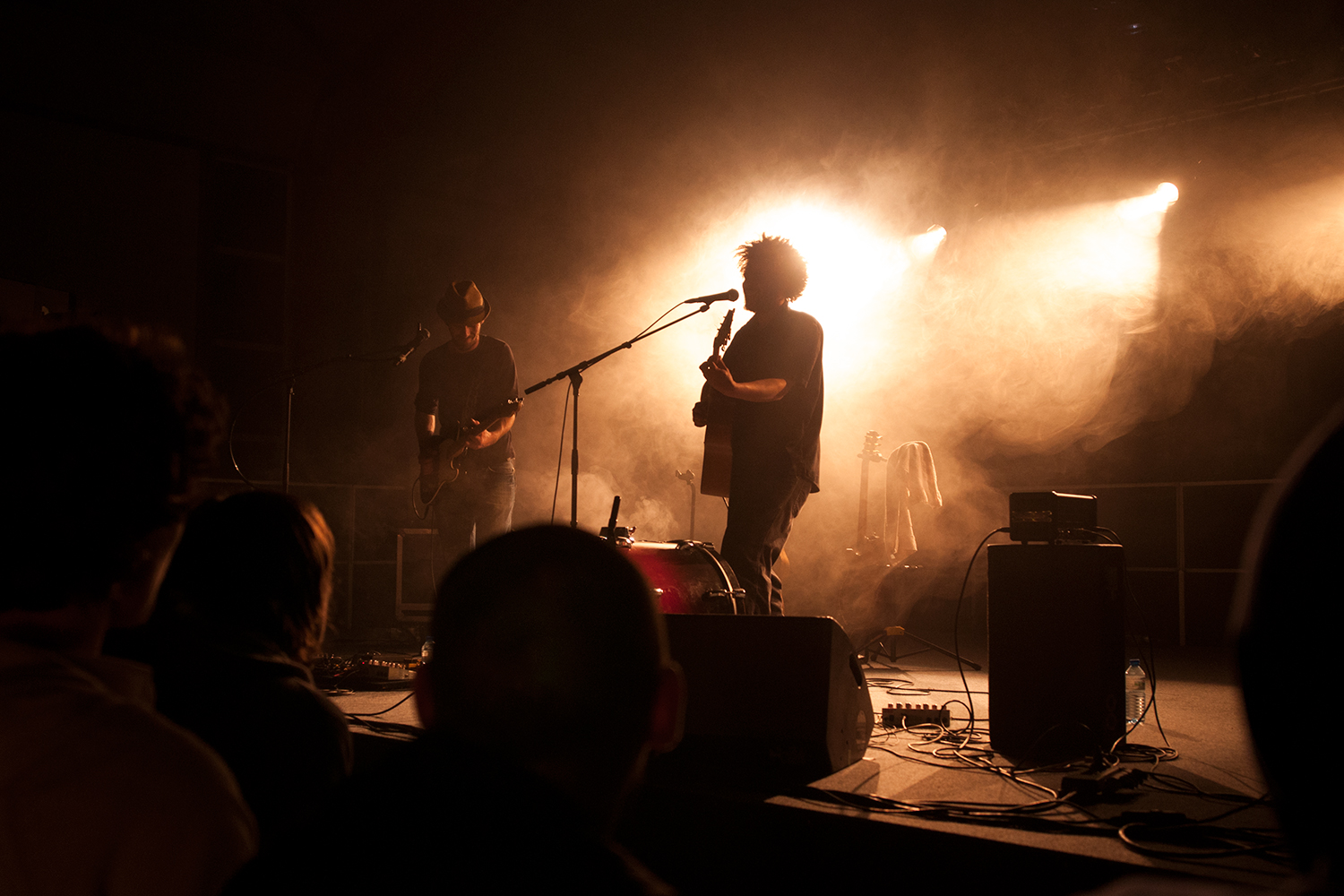 "Ledneuff  performing at the 3rd edition of 'A l'assult du son"" in Saint-Aigan-de-Grand-Lieu, March 2012."