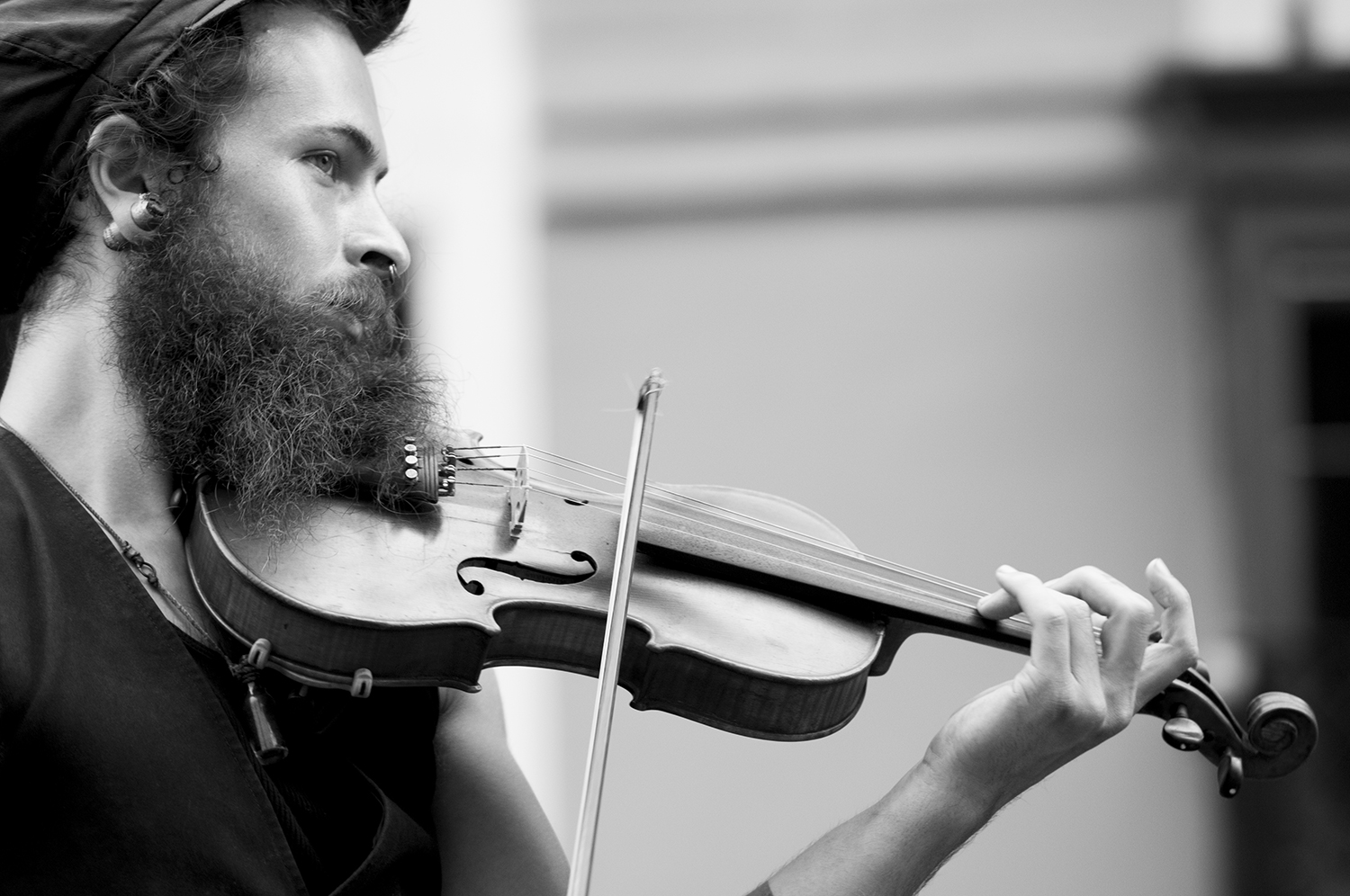 Ian from the band G-String Orchestra.