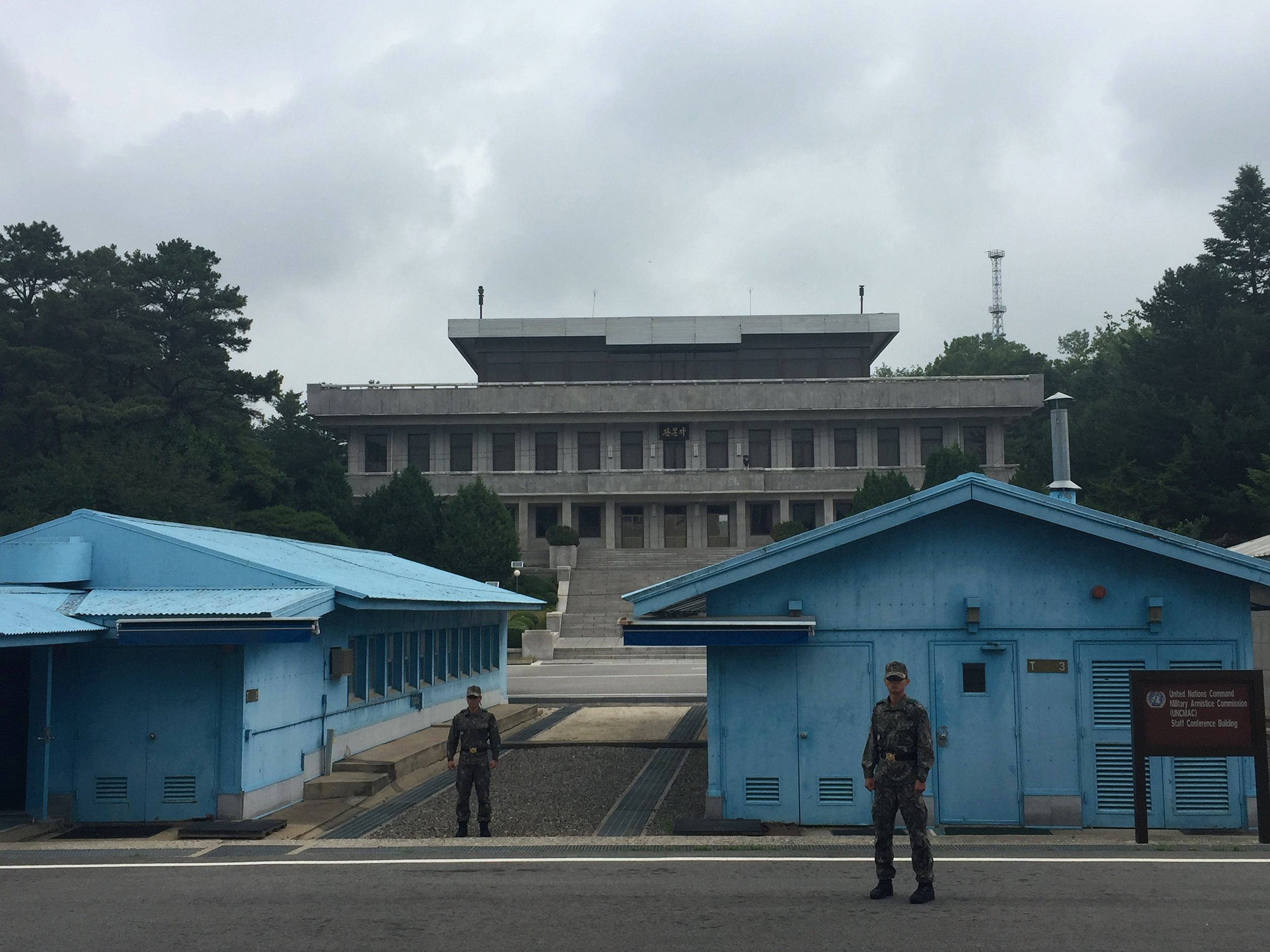 The DMZ, June 2019 (with the Korea Foundation and Maureen and Mike Mansfield Foundation)