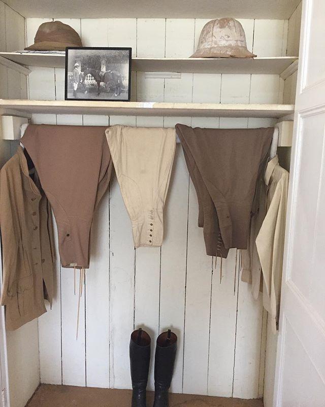 Looks like we found Melania's wardrobe at the Karen Blixen Museum