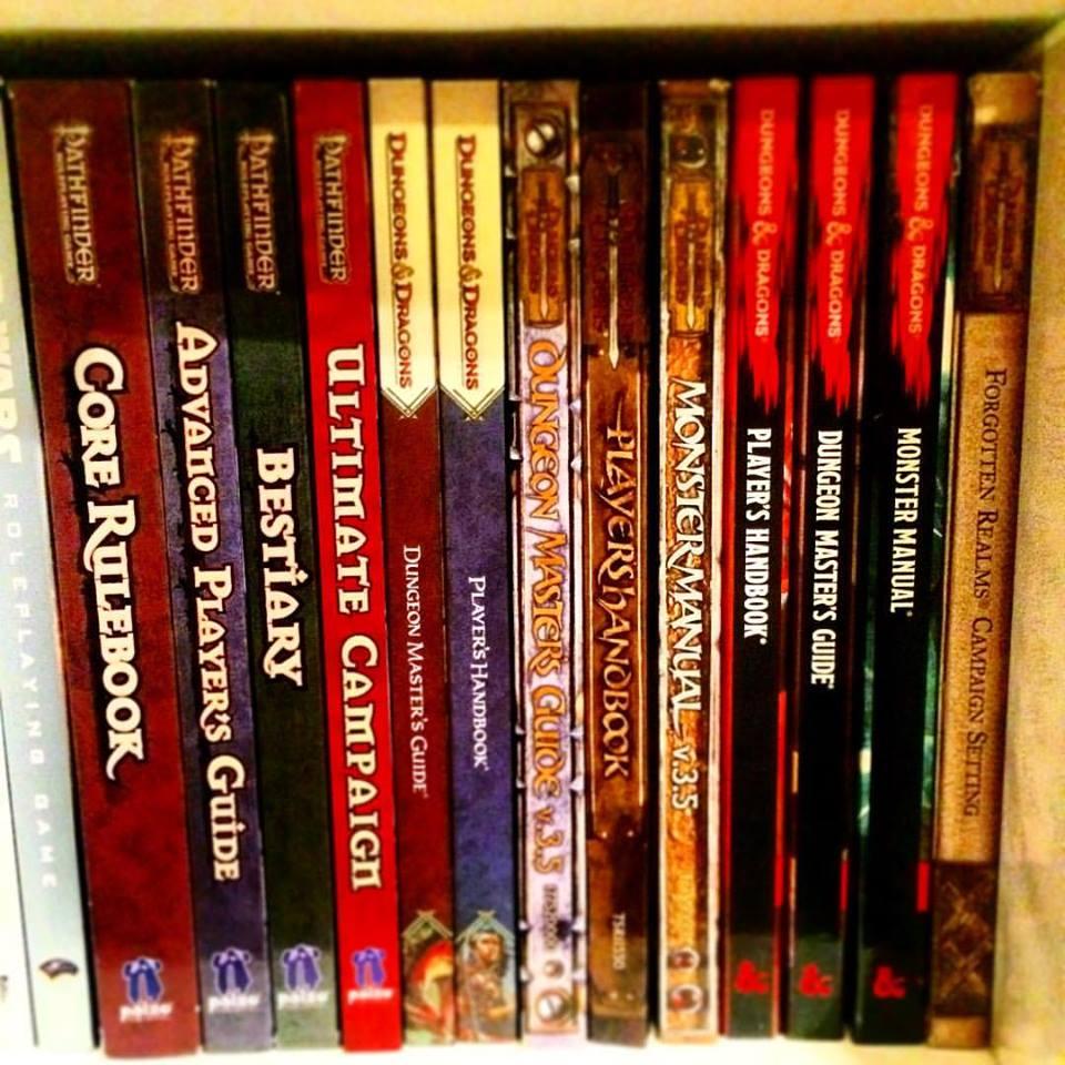 RPG Bookcase