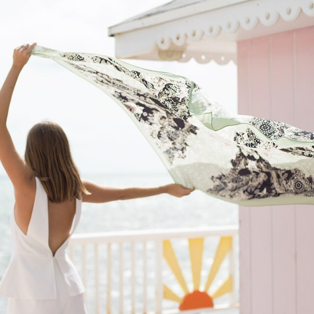 • channel the tropics - ironshore scarf •