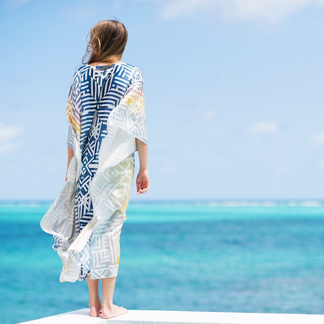 • the dusk kaftan • featuring a soft v-neck and elegant side splits, this kaftan gives you effortless holiday style