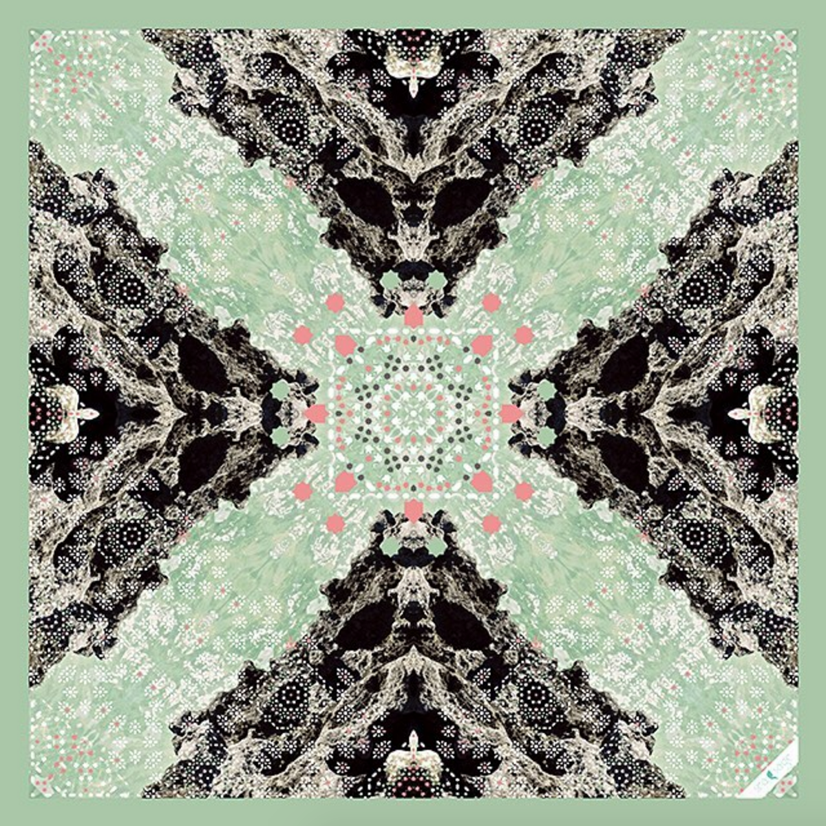 • ironshore scarf - inspired by the rocky shores on Provo •