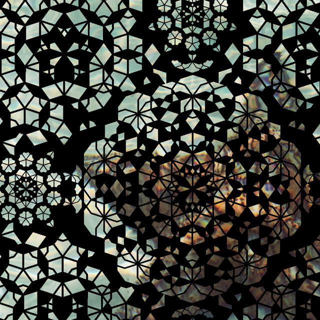 • close up - the starfish scarf •