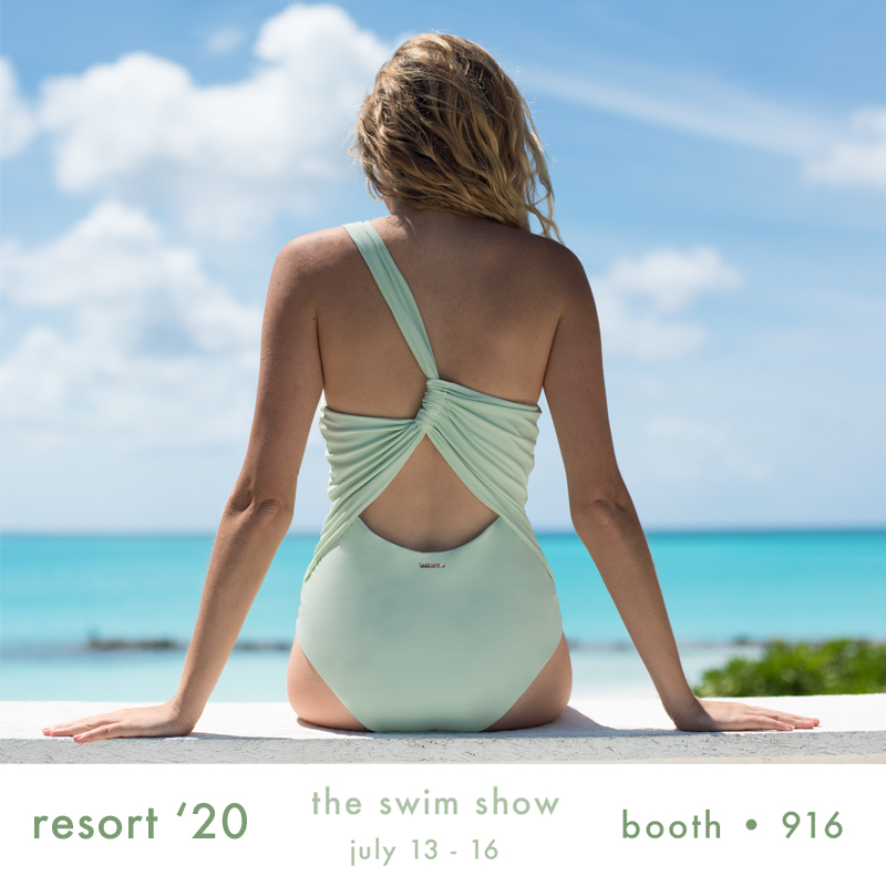 super excited to be showing our new resort '20 collection at @safswimshow - from today through to the 16th