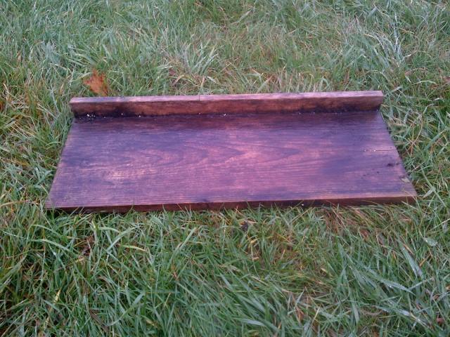 Eric's simple soil blocks tray