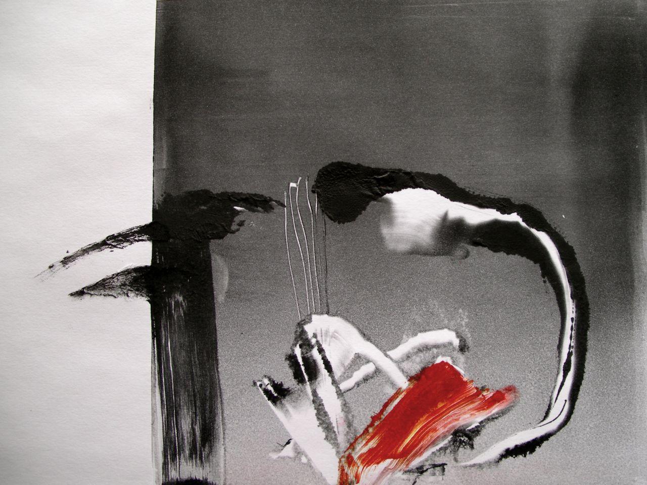 monoprint [20x29cm] Laura Hudson 2014