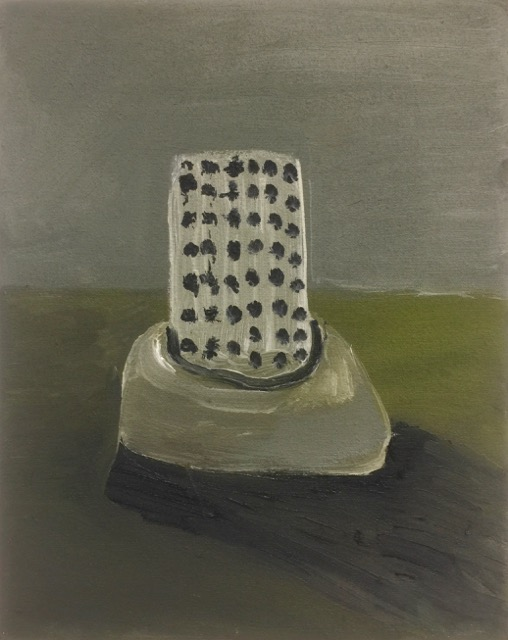 Nail House - One, oil on canvas, [20x25cm] Nov 2017 (selected stage2 John Moores painting prize 2018)