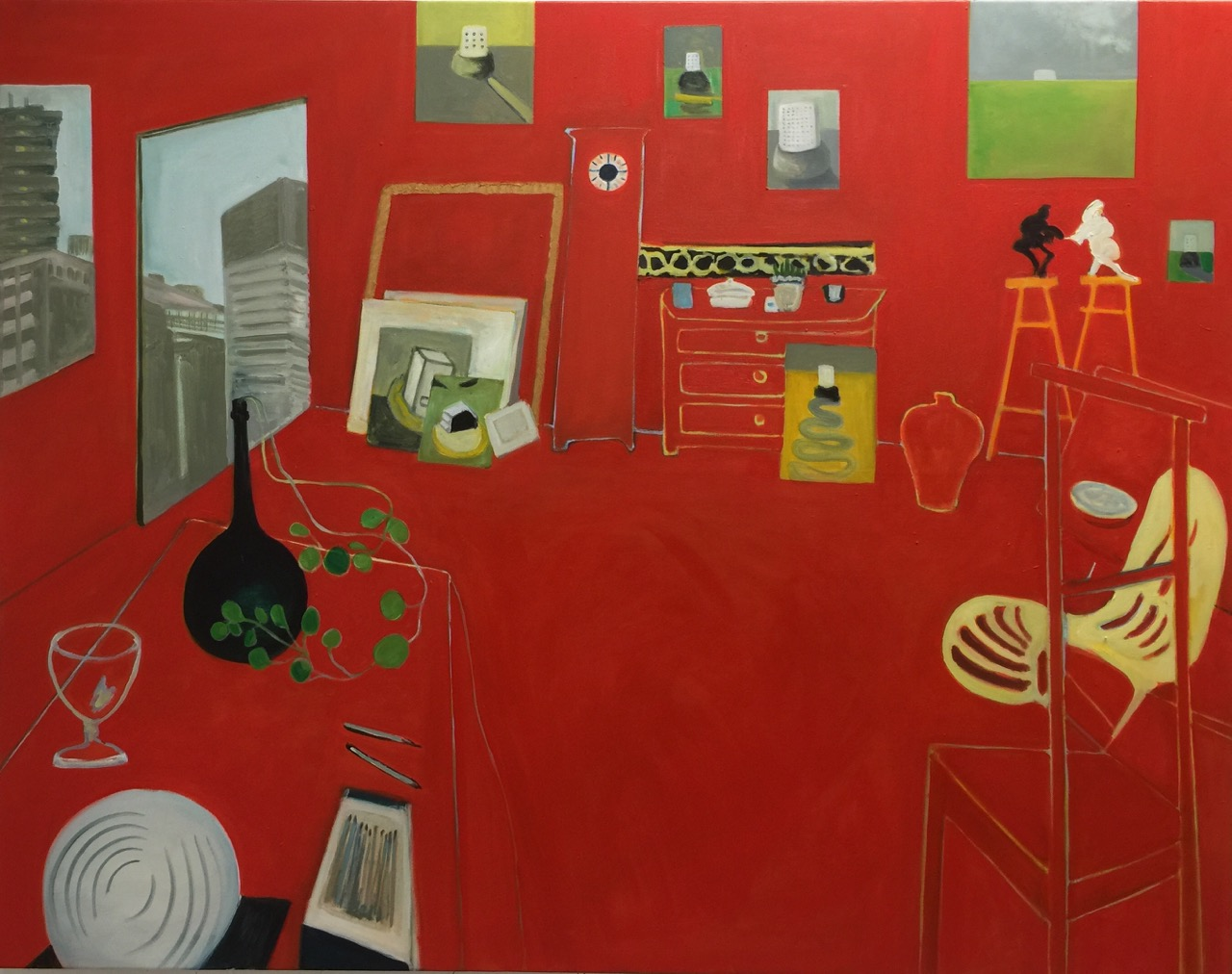 The Red Studio After Matisse