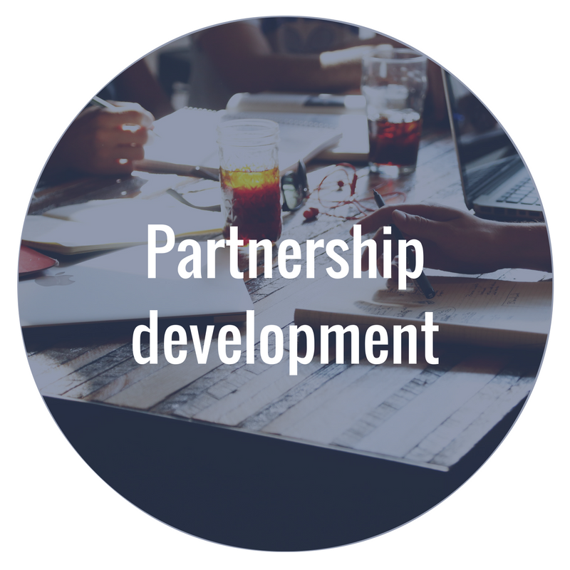 We make connections to build lasting, strategic partnership programs that benefit all parties involved.
