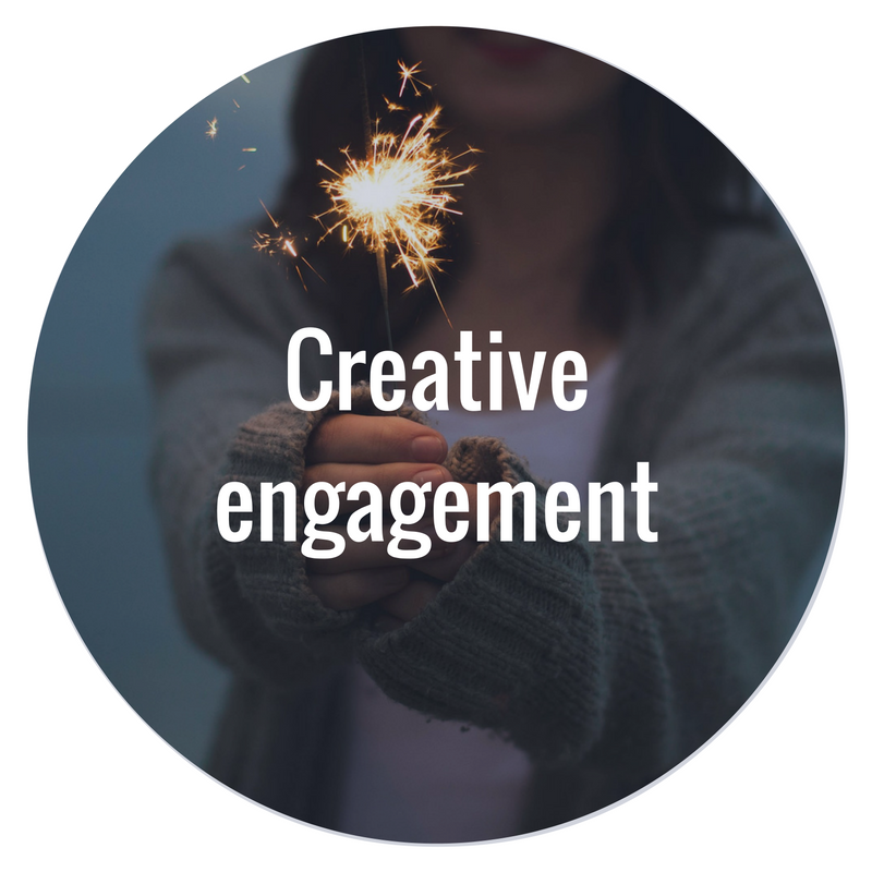 We develop original campaign, event and content ideas that work across channels to inspire and activate audiences, including employees, customers and thought leaders.