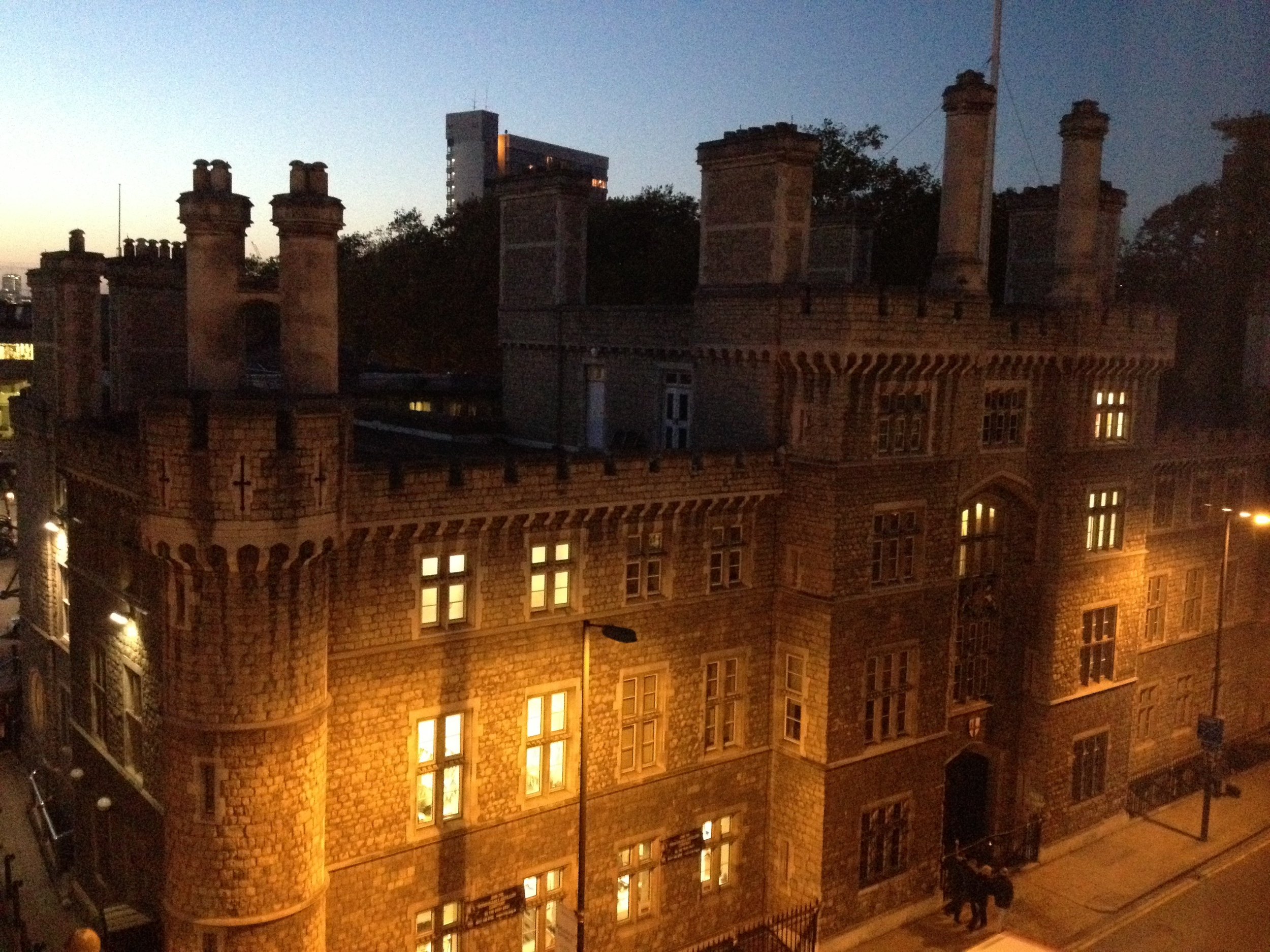 The view from my Travelodge