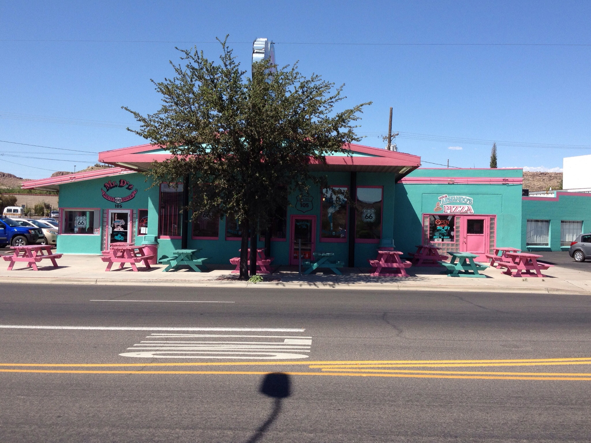 As was this little diner on Route 66
