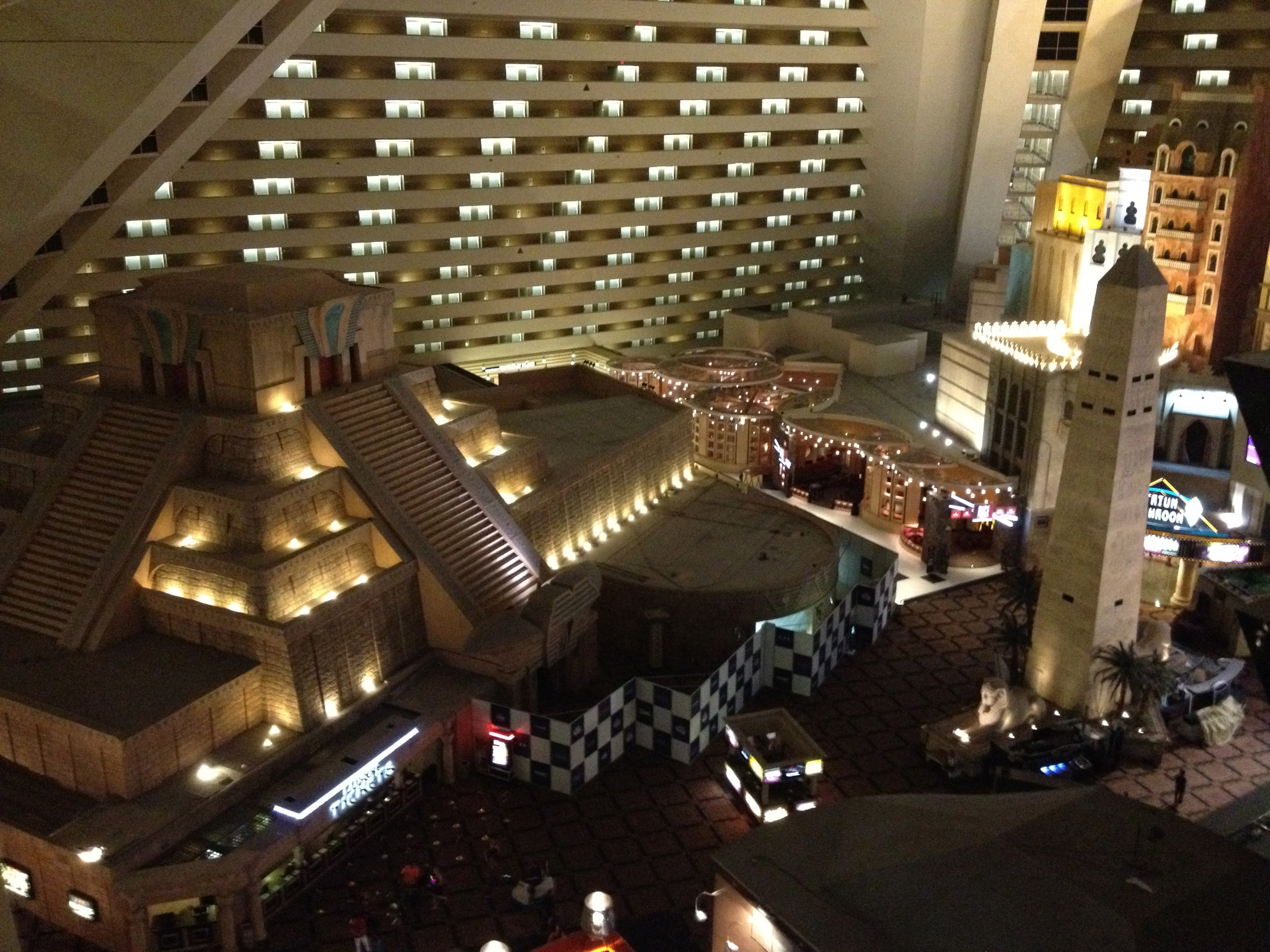 Inside the Luxor